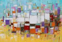 art WALL abstraction / by Theresa Rentaria