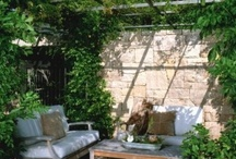 Outdoor Space / Exterior design inspiration / by Janet Rooney