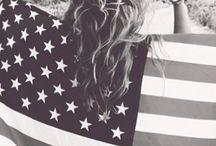 A•M•E•R•I•C•A / USA! USA! USA! / by Tori Luce