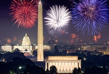 a travel guide - Washington D.C. / There is no place more patriotic to celebrate the 4th of July! Your heart will beat true beneath the red, white and blue as Washington D.C. celebrates Independence Day with fervor and pageantry. America's birthday party begins with the National Independence Day Parade along Constitution Avenue as marching bands, drum corps, floats, and dignitaries pass by iconic monuments like the White House and Washington Memorial along the 10-block parade route.