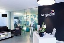 LivingSocial HQ / A sneak peek behind the scenes of LivingSocialUK HQ. Expect plenty of food in our snazzy kitchen, drinks in our in-office bar and competitive tournaments in our chill out area... / by LivingSocial UK and Ireland