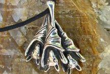 Silver Bat Jewelry