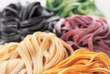 FOOD: Pasta machine / FRESH Pasta/pasta dishes. I got a pasta machine for Xmas 2012...my board for recipes, inspiration