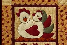 Quilted Roosters - Hens - Chicks Etc. / by Joanne Mortenson