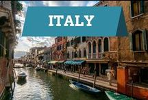 Italy / Explore the nation of Italy and all its charms.
