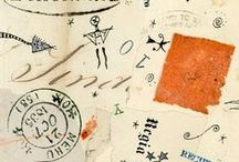 collage mixed journal letter doodle / by Iddrise
