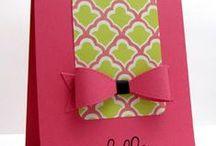 Cardmaking, handmade embellishments