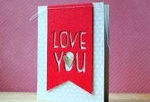 Cards, die cut inspiration
