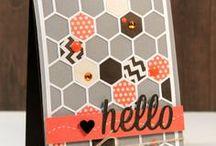 Cards, hexagons
