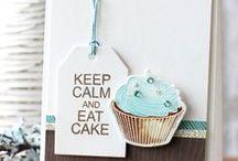 Cards, cupcakes