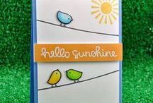 Cards, birds/owls