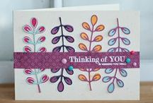Cards, trees/botanical