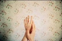 hands / by izi ☾