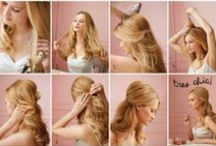 HAIR IDEAS (women and girls) / by Andrea Denny