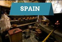 Spain / Spain is a gorgeous country full of great food, interesting people and fantastic landscapes.  This board is full of inspiration for your travels in Spain!