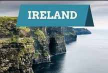 Ireland / Traveling to Ireland is on most people's list of things they long to do.  It is a beautiful emerald island with low lying mountains, plush fields and interesting Celtic culture.