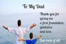 I Love Dad / A board dedicated to the interests of the most special man in our lives...DAD! Happy Father's Day! #fathersday #dad