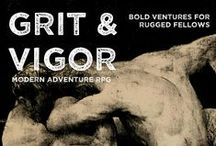 Grit & Vigor / A RPG about manly adventure