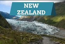 New Zealand / This board features photos from the beautiful scenery and sights at New Zealand's top tourist attractions in Auckland and Wellington, including UNESCO World Heritage Sites in South Island.
