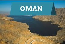 Oman / Explore the natural beauty and landscape of Oman through photos taken in Muscat, Nizwa, and Musandam Peninsula.