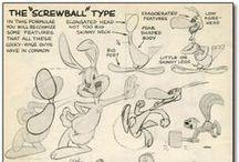 Cartoon Templates / This is the dirty little secret of cartoon animators.