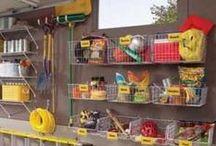 HOME : Garage organization