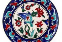 Iznik tiles and pottery