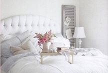 """For MY Bedroom. Shabby Chic Style... / Inspired by Rachel Ashwell shabby chic and French Decor """"Luxury need not have a price – comfort itself is a luxury."""" ~Geoffrey Beene"""