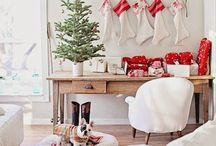 Christmas in Red & White / by Julie L. Light 💕FabulousFindsStudio
