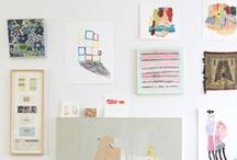 Photo Gallery Walls / photo gallery wall inspiration