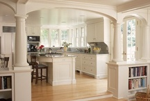Interior Spaces  / Some of my favorite interior spaces and rooms, from kitchens to dens, love the space your in.