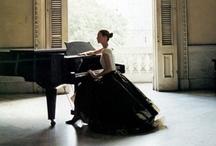 The Piano / by Julie L. Light ♥ FabulousFindsStudio