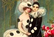 Pierrot / I collected a lot of these dolls and masks during the 80's!