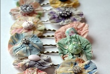 """DIY Hair Accessories / """"Good dressing is largely a question of detail and accessories."""" ~Elsie de Wolfe"""