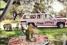 For MY Studio~ Junk Gypsy Style! / I'm going to re-decorate my studio Junk Gypsy Style. I love the Gypsy girls! The rest of  my home is still Rachel Ashwell style Shabby Chic. Gotta love all these girls :)