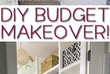 Beautiful Home on a Budget (frugal decorating) / This board is about frugal decorating and creating a beautiful home on a shoestring budget. Not compromising beauty but finding it, enjoying and creating your dream home.