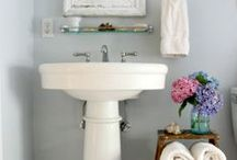For MY Powder Bath. Shabby Chic Style... / Inspired by Rachel Ashwell Shabby Chic and Fabulous French Decor