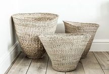 B A S K E T S / basket interior design inspiration / by Lindsay Marcella Design