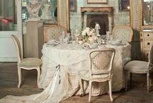 """French Style: Dining Room / """"If you have it,"""" the English playwright Sir James M. Barrie wrote about charm in 1907, """"You don't need to have anything else; and if you don't have it, it doesn't much matter what else you have."""""""