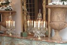 French Style: Decor & Vignettes / Time to dust again. Time to caress my house, to stroke all it's surfaces. I want to think of it as a kind of lovemaking...the chance to appreciate by touch what I live with and cherish.~Gunilla Norris
