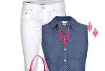 Looks for the Day - spring/summer / Jeans, shorts, pants - casual looks for the spring/summer