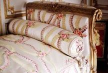 """For the Home~Daybeds / """"All one really needs is a divinely attractive bed."""" ~ Mrs. Winston Guest"""