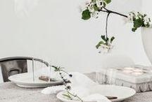 Dukning - Table setting