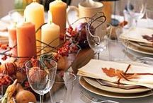 Thanksgiving / Ideas for thanksgiving table