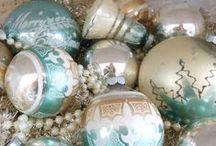 Christmas in Blue / by Julie L. Light 💕FabulousFindsStudio