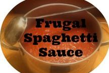 Frugal Cooking / Great food for less, hopefully way less!