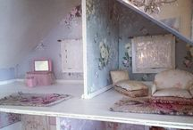 A Dollhouse for my Dolly / by Julie L. Light 💕FabulousFindsStudio