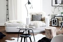 Living Room Inspiration by Lucy Freeman / My living room my way.  Interior inspiration for my dream living room space! Pinned by beauty blogger Lucy Freeman www.beautyboost.tumblr.com / by Homebase