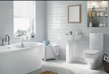Bathroom Inspiration - by Suzy Fraser / Budding bathroom enthusiast Suzy Fraser has a keen passion for bathroom style and design, Suzy has collected together her inspiration, ideas and favourite products that create her desired beautiful bathroom.  / by Homebase