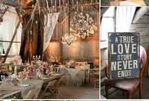 Wedding Inspiration by Leanne Irons / My wedding my way. Newly-wed Leanne Irons shows us her very own wedding inspiration - from rustic woodland centre pieces to kilner tealights and more, view ways to create your very own personal touch here. / by Homebase
